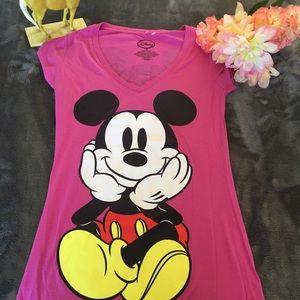 Disney Pink T-Shirt Size Size Medium
